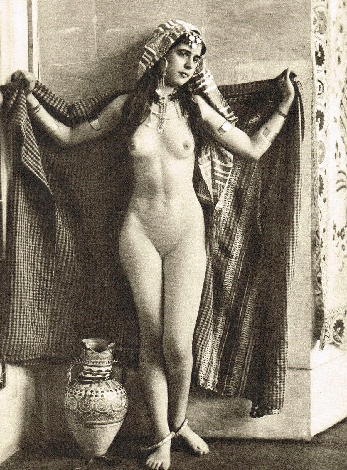 Vintage nude women leg warmers