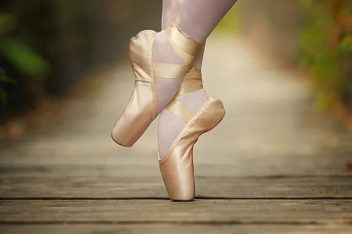 балерина с пуантами картинки главным