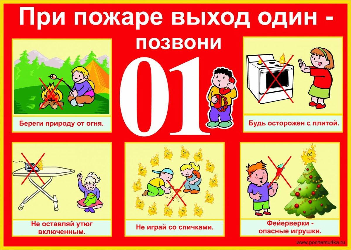 Рисунки правила по пожарной безопасности