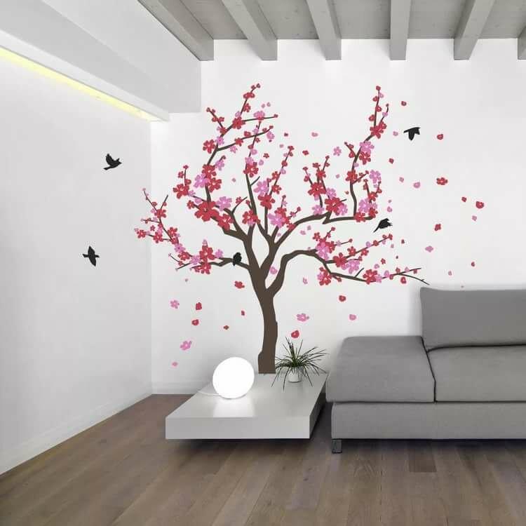 Рисунки на стен картинки дерева исполняли