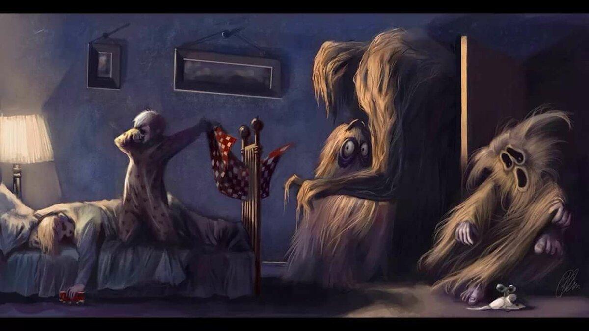 картинка сон чудовищ уже упоминалось