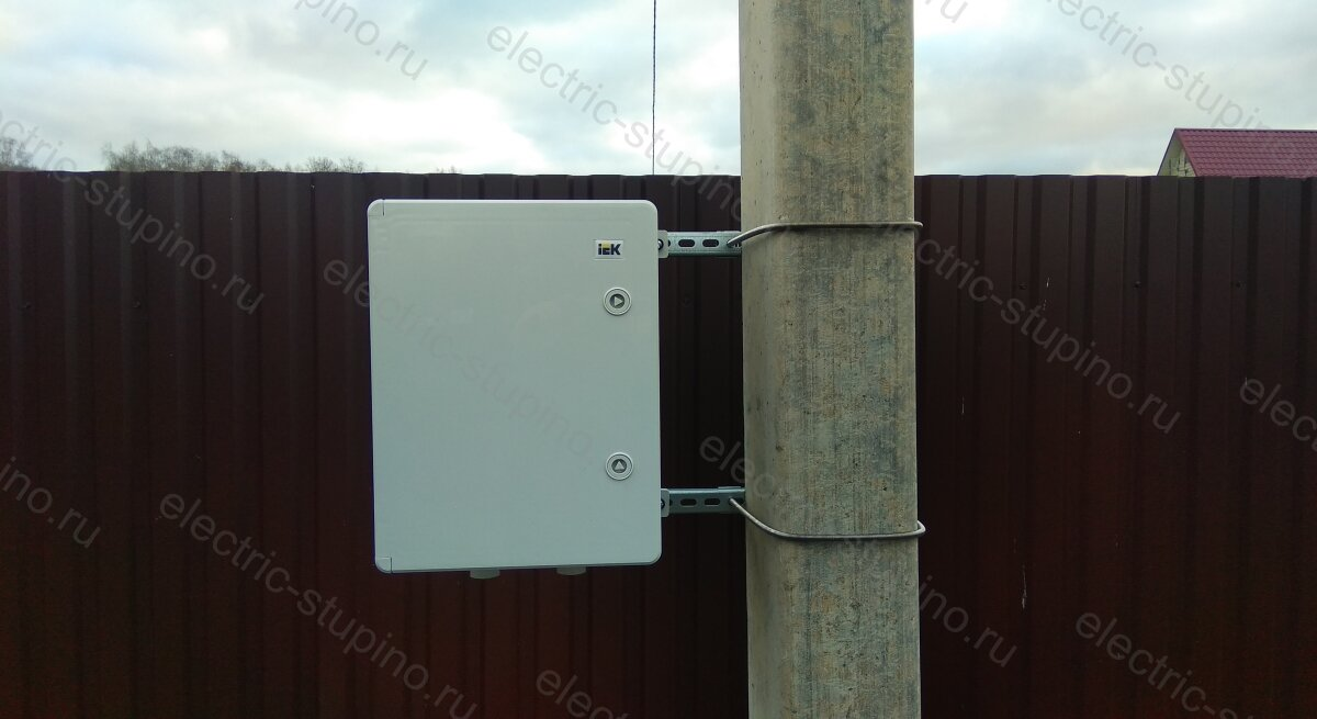 Подключение 15 кВт к частному дому Установка электрощита в ДНП