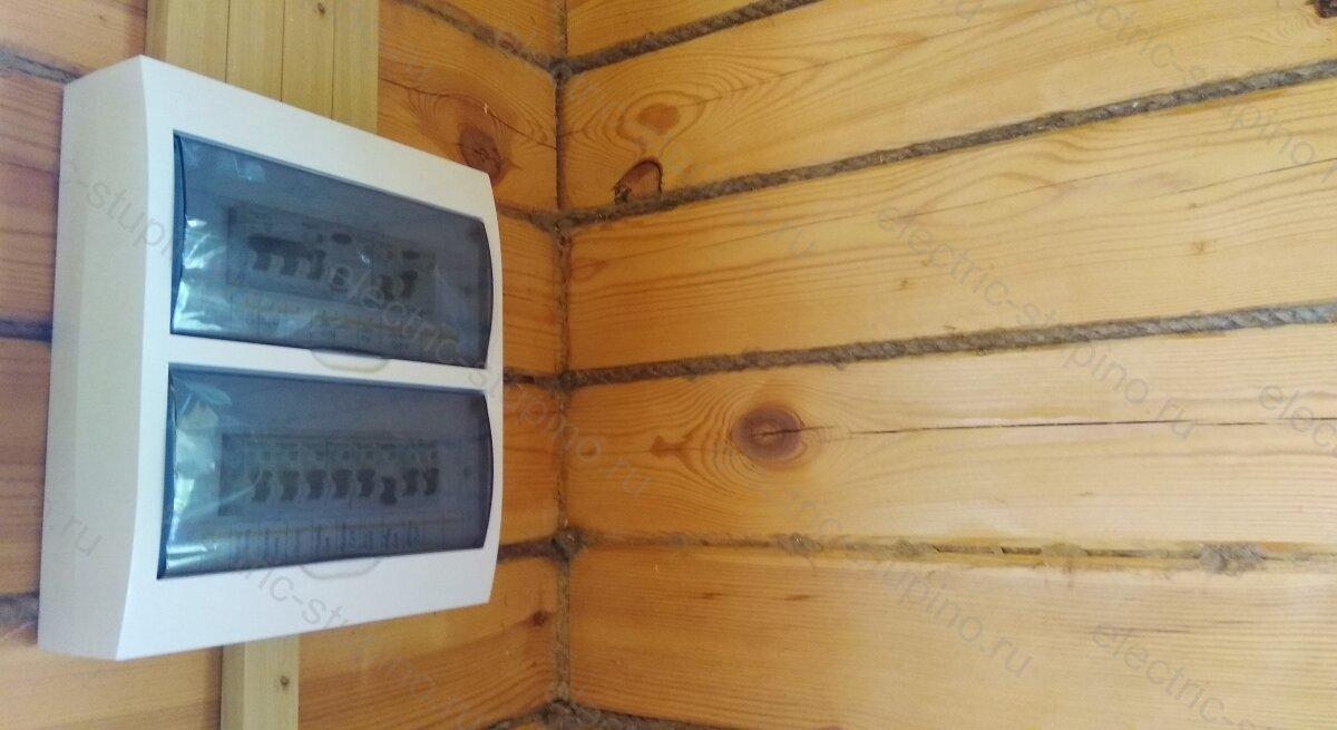 Электропроводка в деревянном доме сборка электрощита