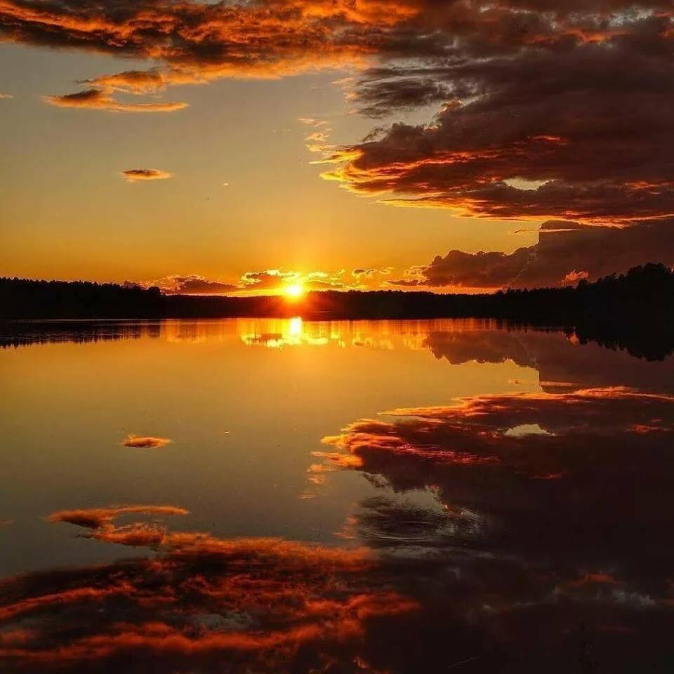 самые красивые рассветы и закаты фото статья