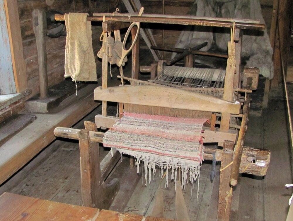 Картинка ткацкого станка