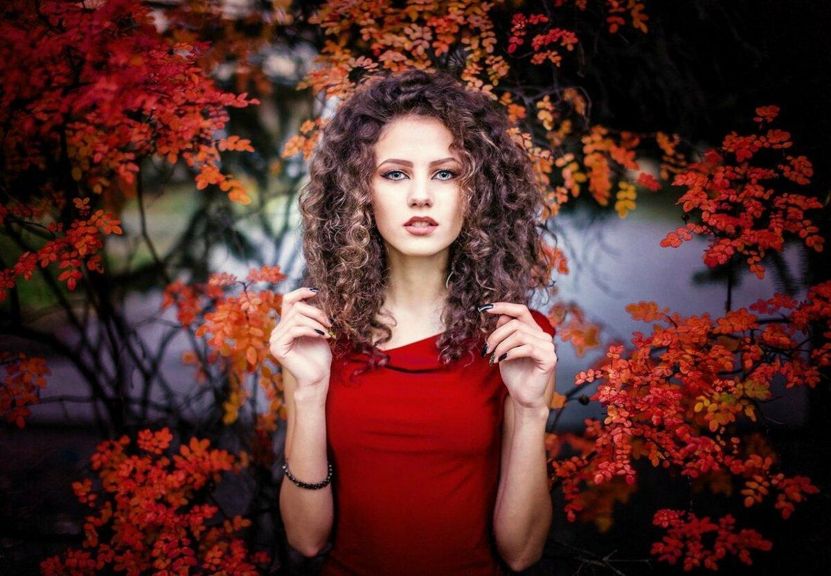 красивые осенние фотопортреты