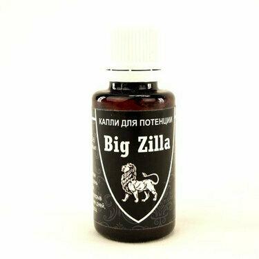 Big Zilla - капли для потенции в Таганроге