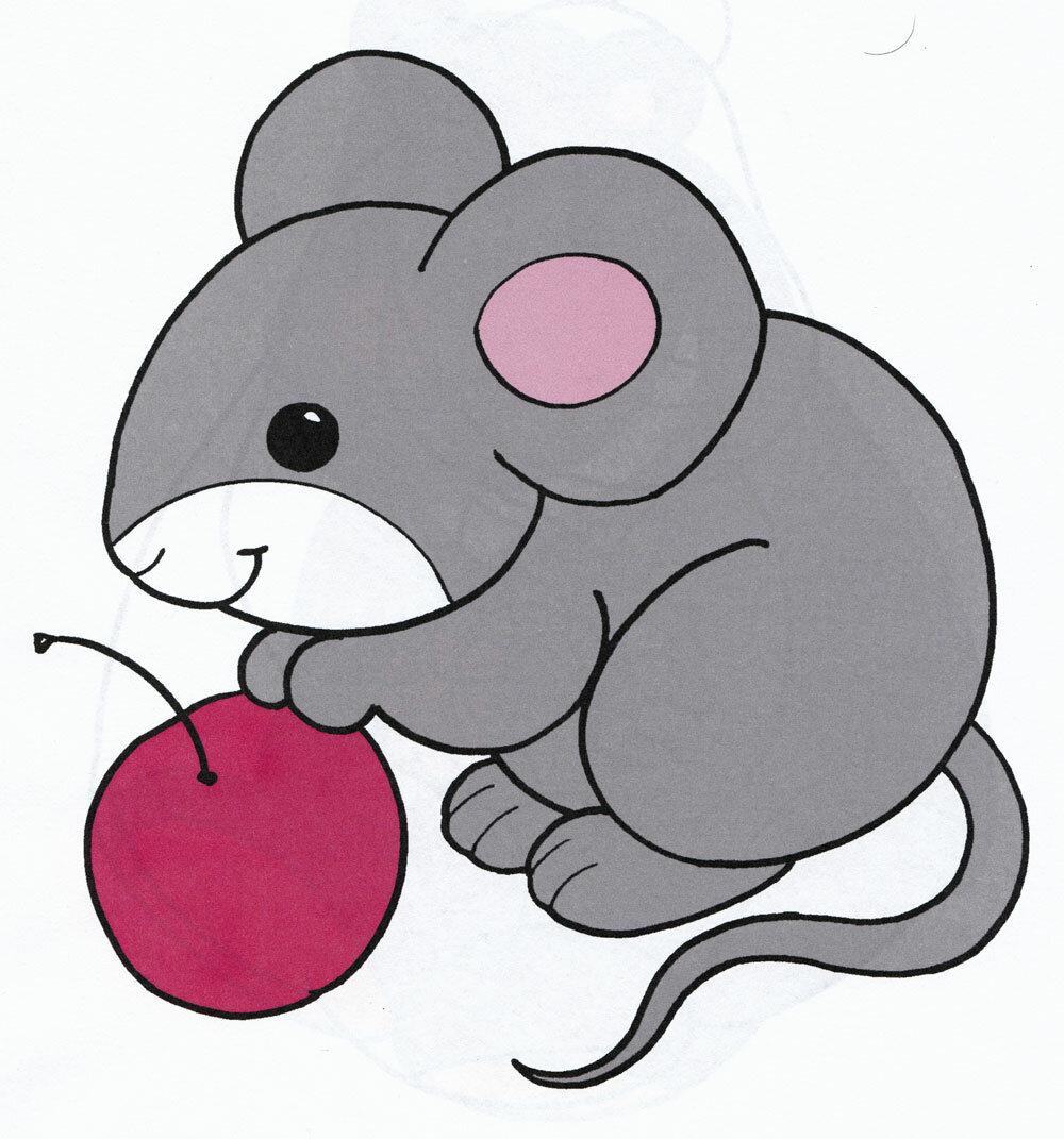 Картинки мышек рисунки