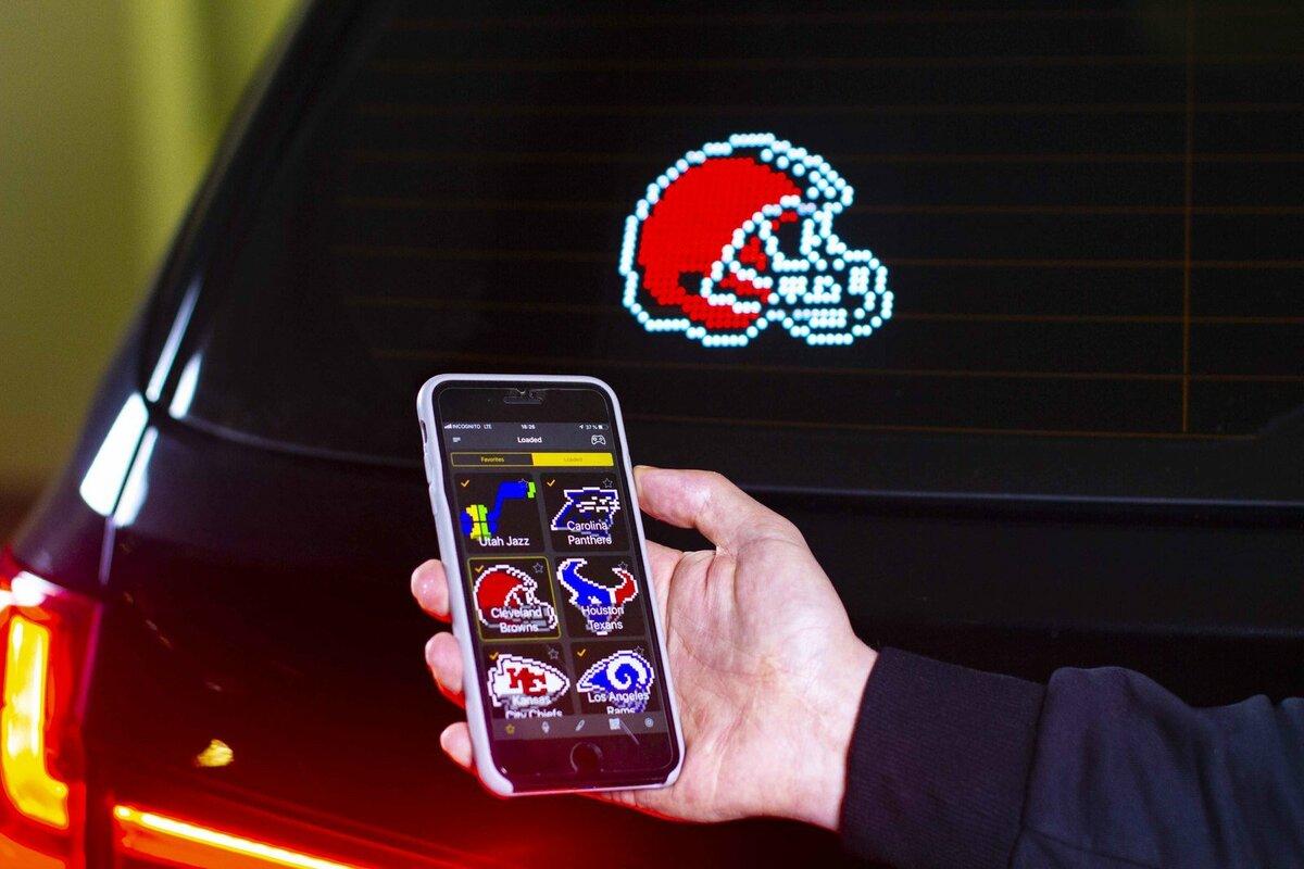 Автомобильный Emoji дисплей в Липецке