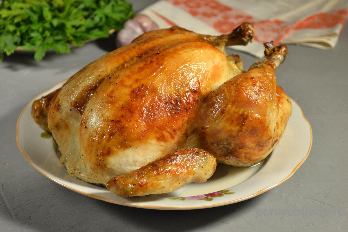 Сколько запекать курицу в духовке?