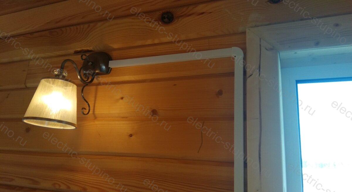 Электропроводка в частном доме Монтаж освещения