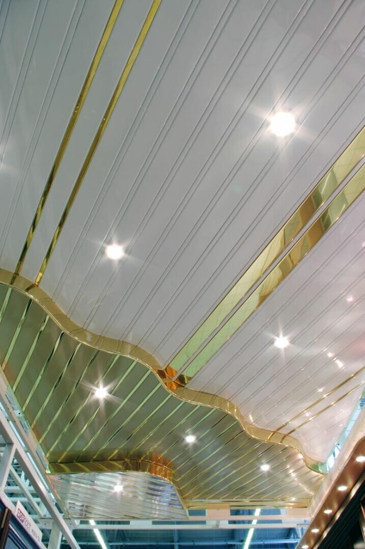 Реечный потолок №110