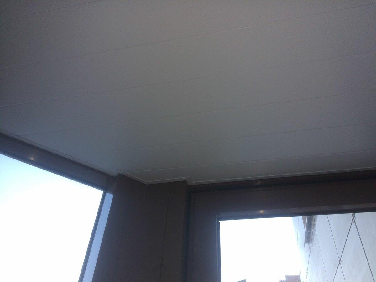 Реечный потолок №43