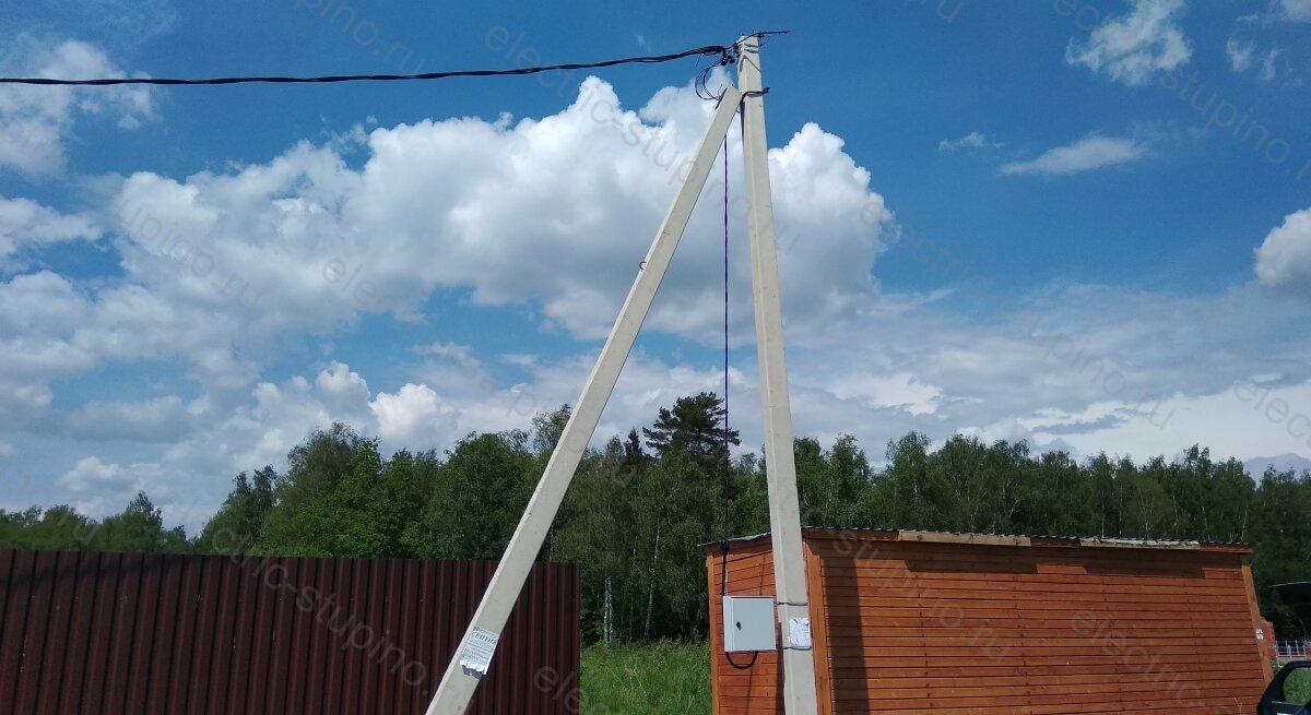 Подключение участка к электросети 15 кВт