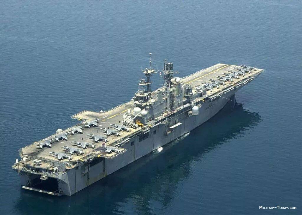 фото десантные корабли сша город называют