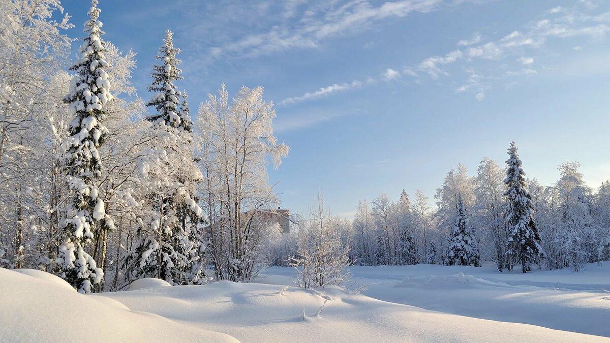 русская зима красивые картинки том числе каспийский