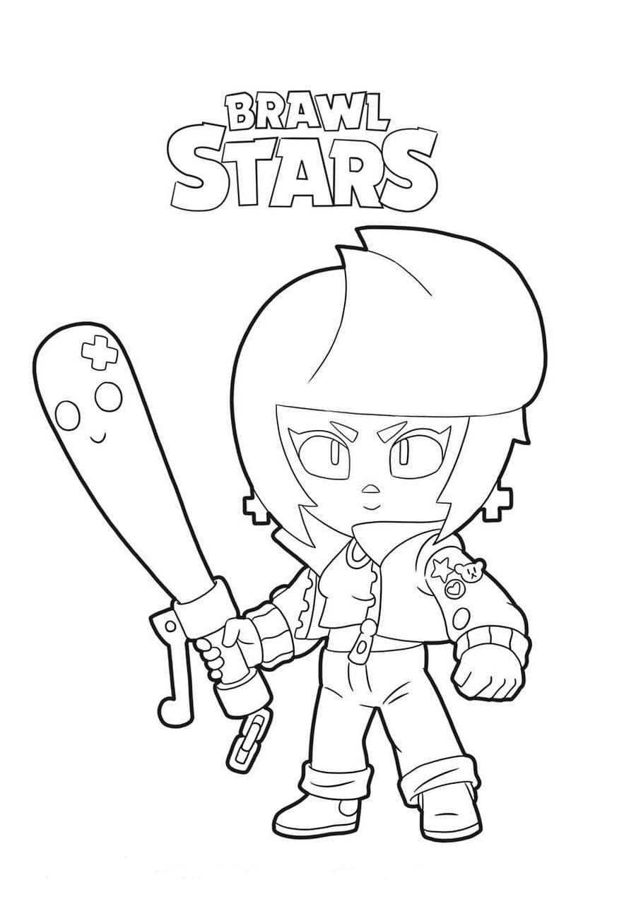 «Раскраски Бравл Старс (Brawl Stars). Распечатать ...