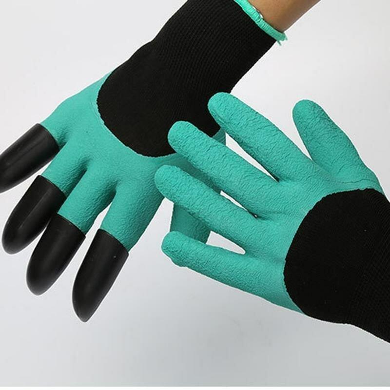 Перчатка для работы в саду и огороде Garden Genie Gloves в Актау