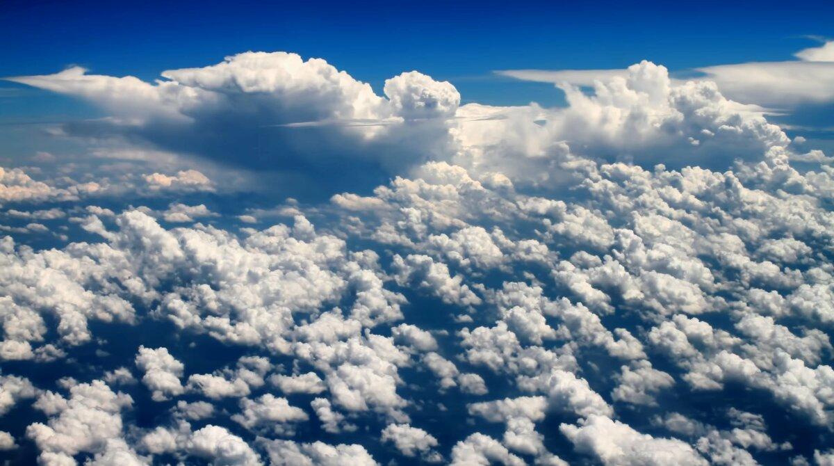 Облака небо большие картинки