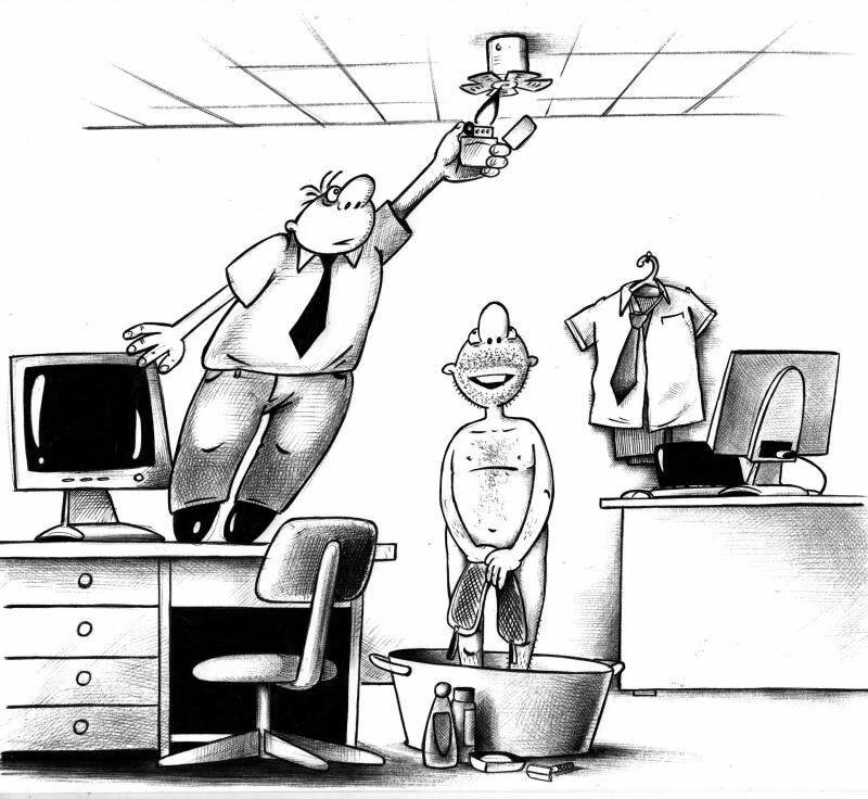 Картинка, нарисованные смешные картинки про работу