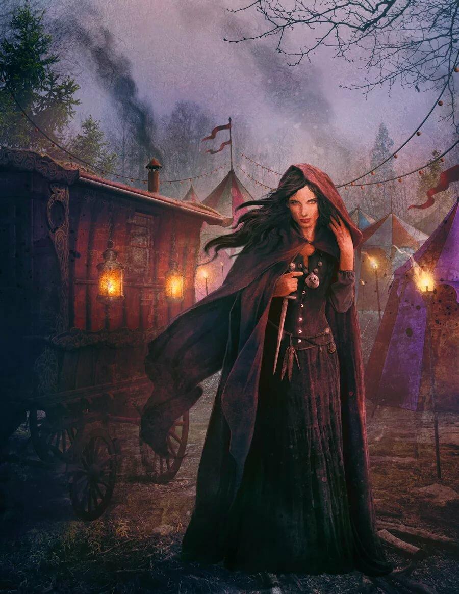 Картинки ведьмы и магии