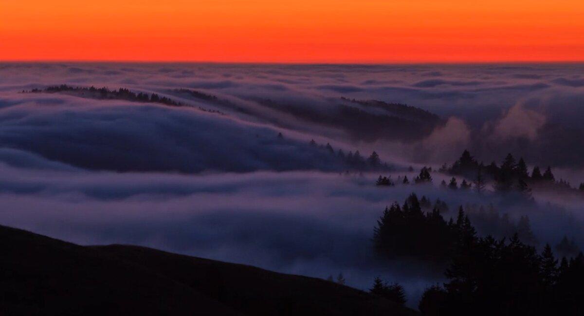 туман в горах гифка дизайнера использованию
