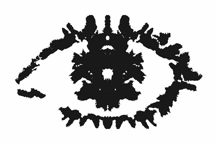 Тест на психику в картинках кляксы