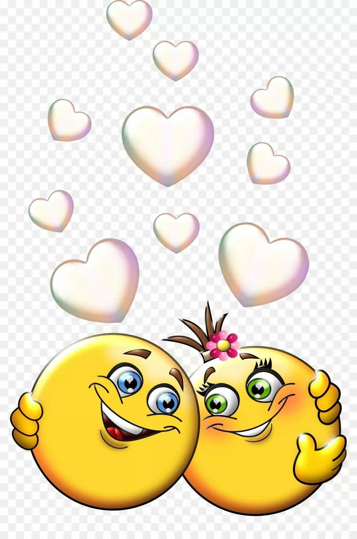 Открытки смайлики про любовь