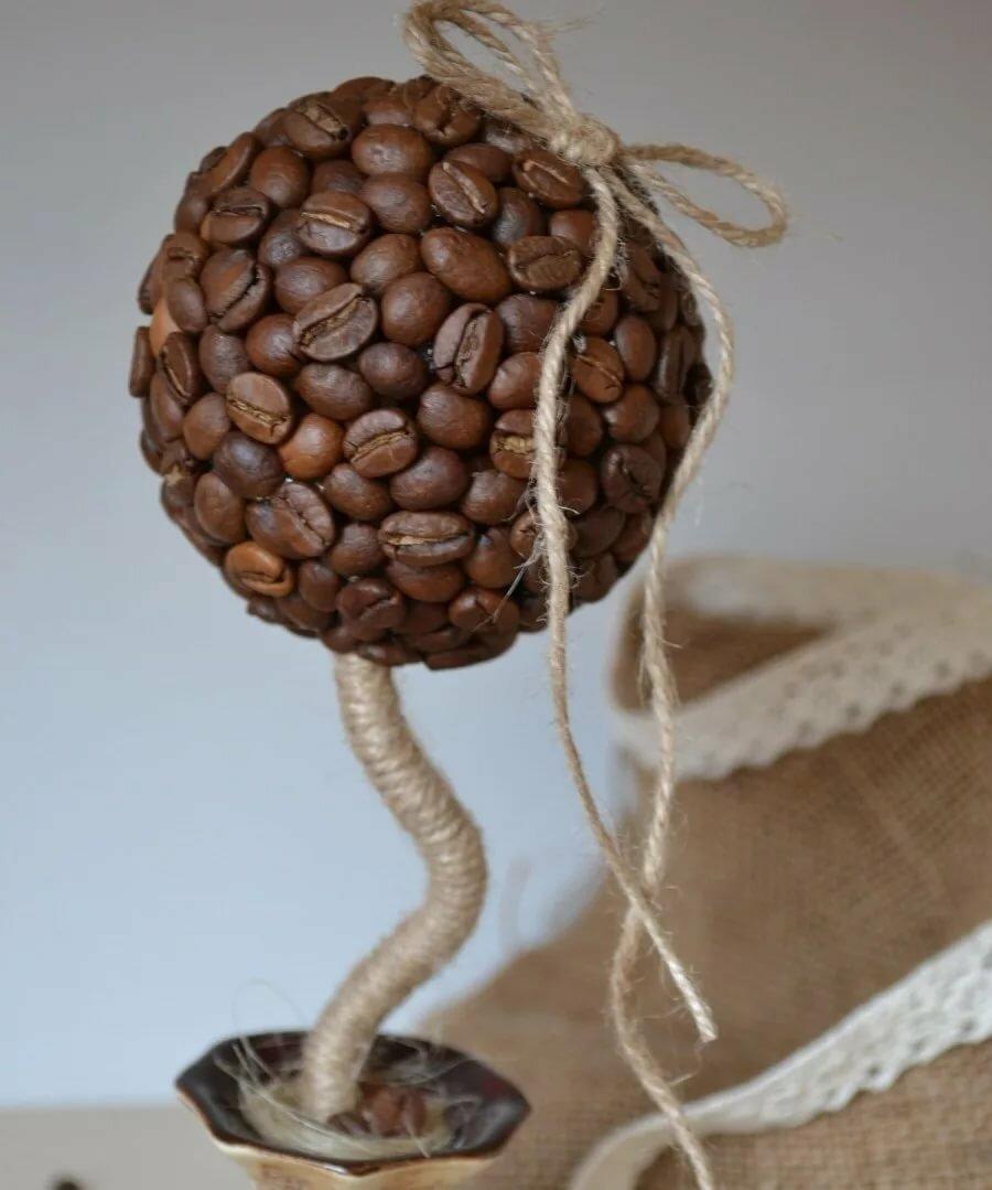Кофейный топиарий картинки