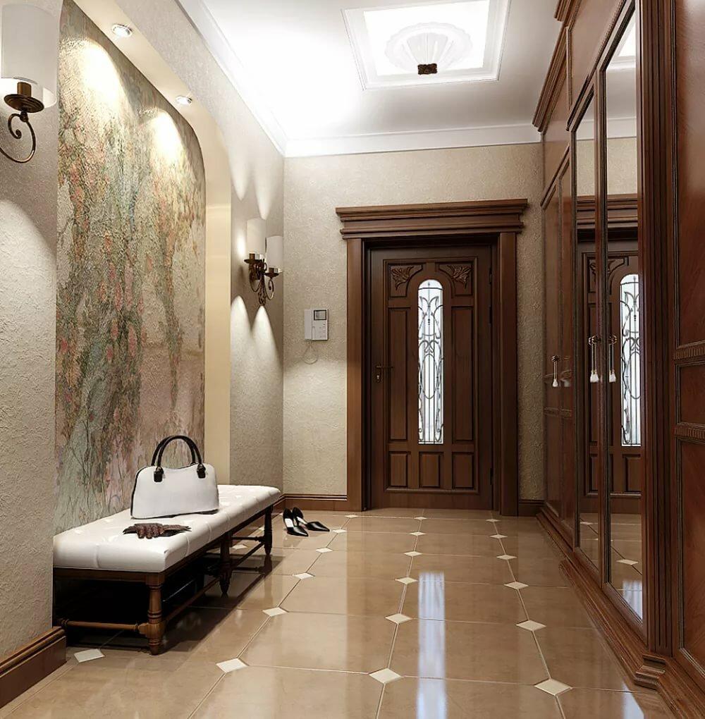 красивые коридоры в домах фото показать как