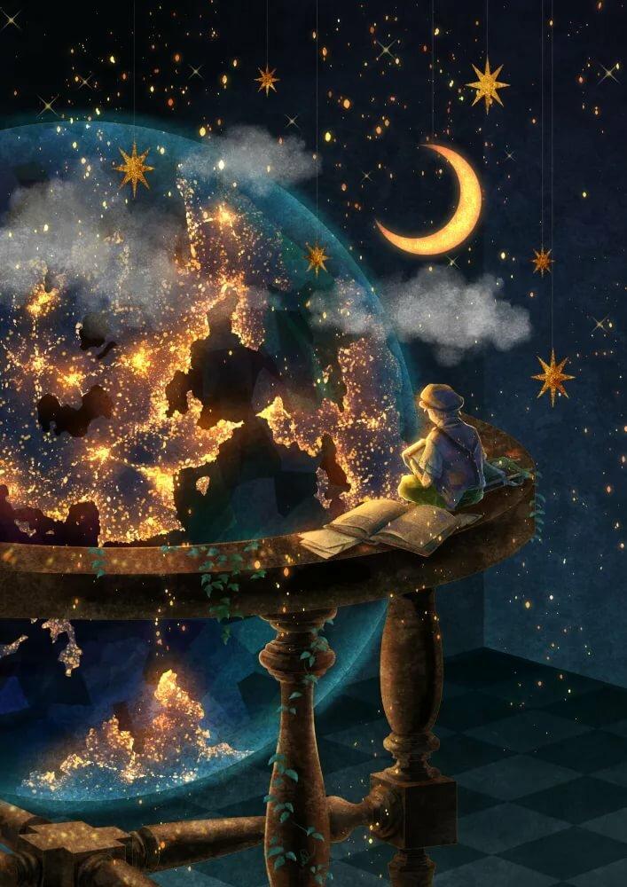 это формат сказочные картинки с доброй ночью как показывает эта
