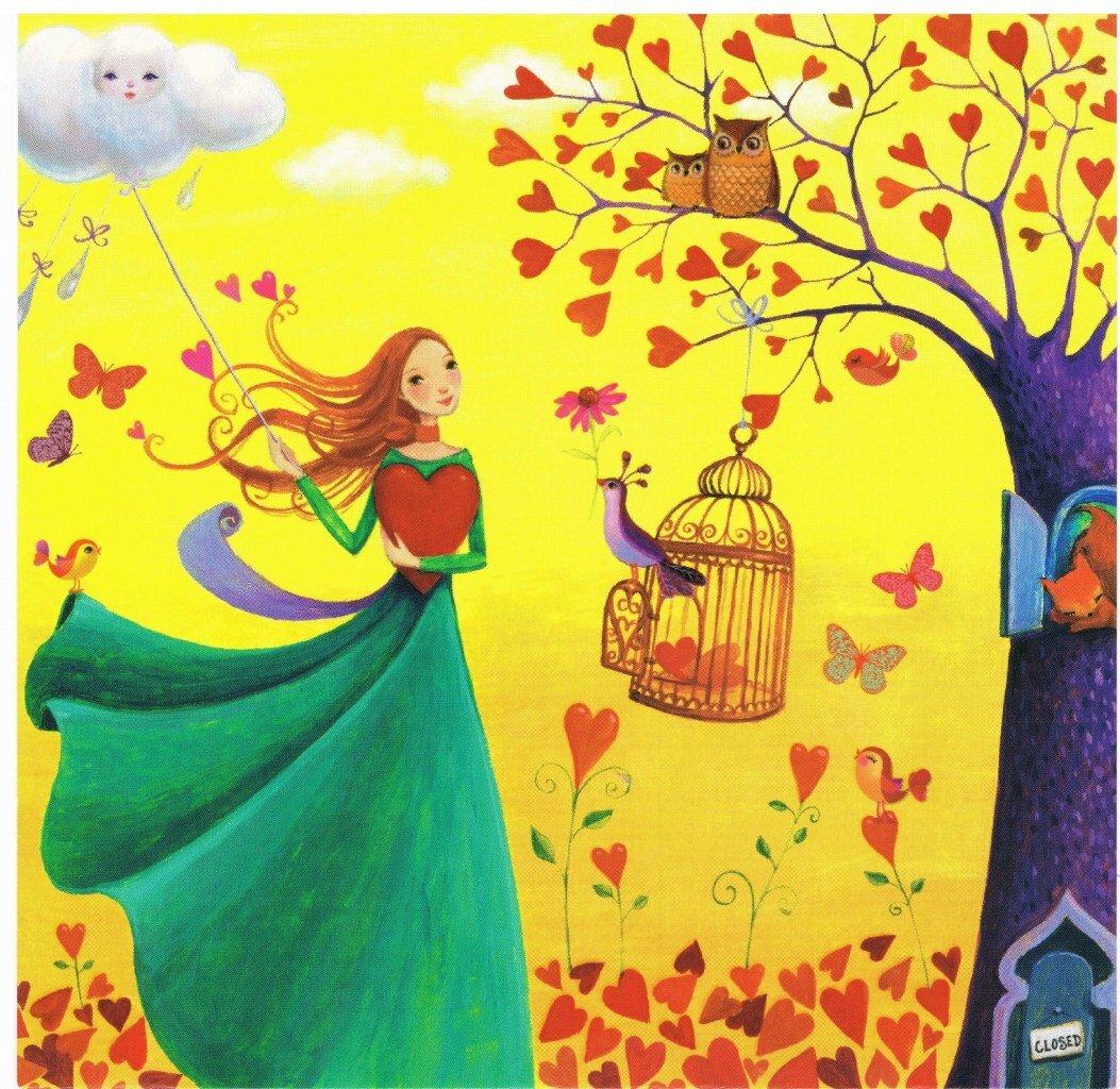 Осенняя радость картинки нарисованные