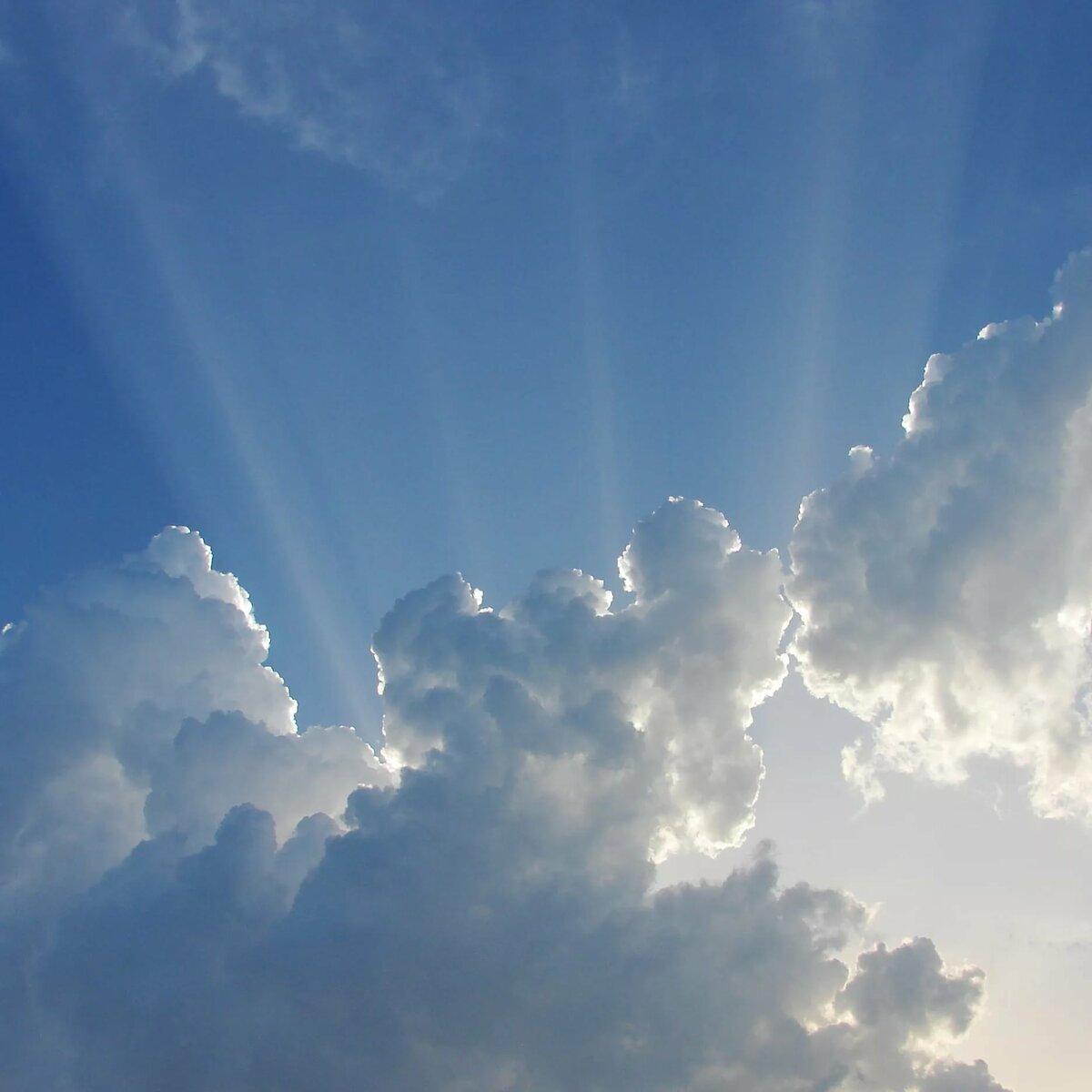 Картинка облако рай