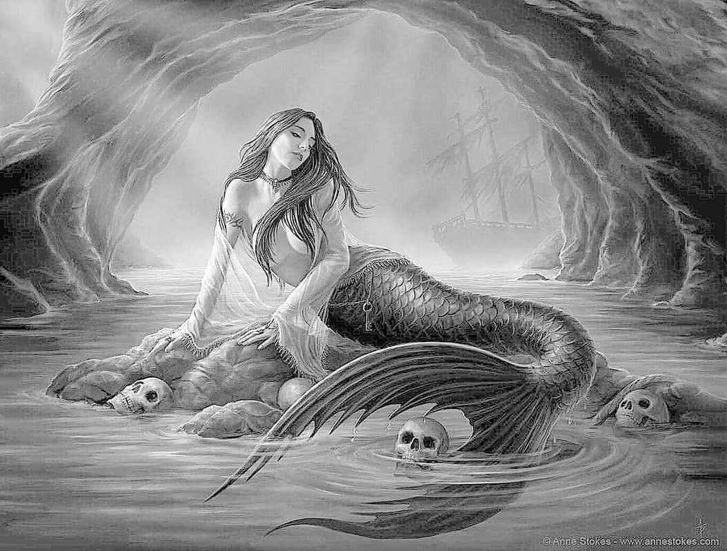Картинки русалок мифология