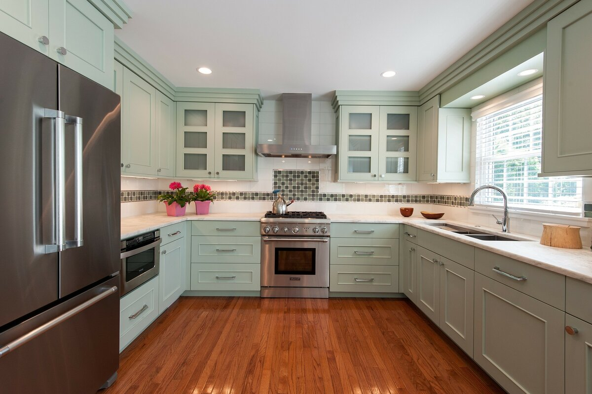 Кухни буквой п фото дизайн