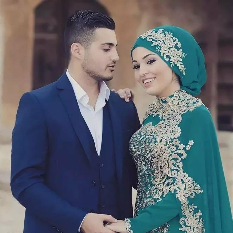 Картинка мусульманка муж с женой