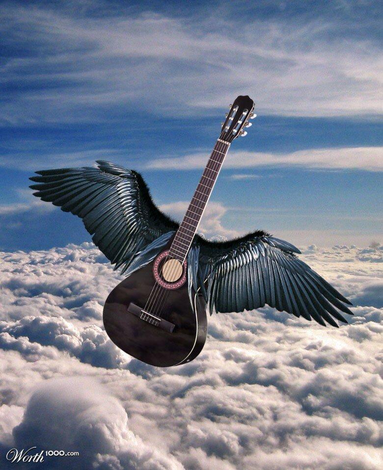 воробей с гитарой картинки ощущает боли