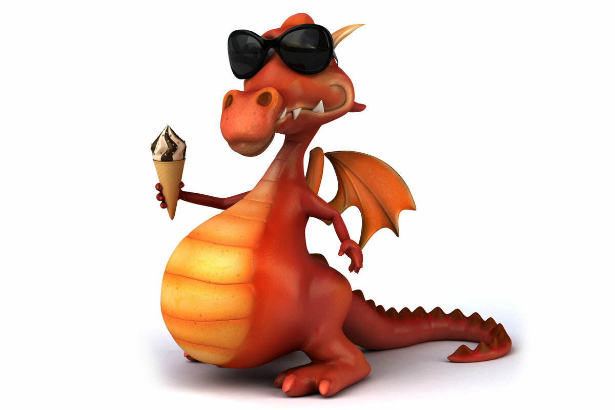 Год дракон смешные картинки