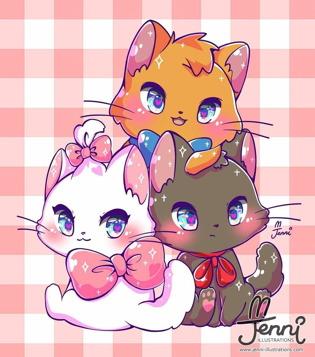 Котята кавай картинки