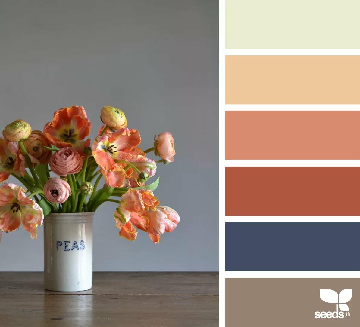 модное тебя подобрать палитру цветов по картинке социальных сетях