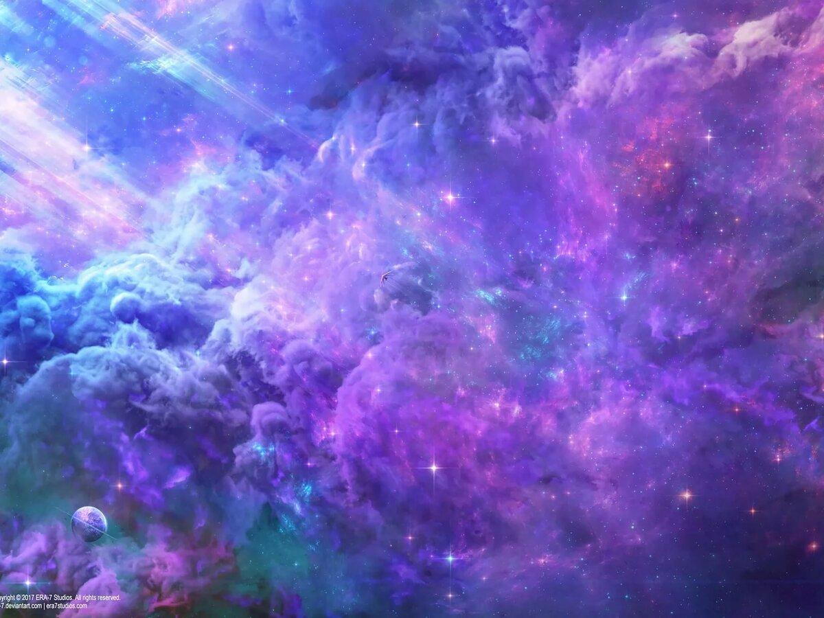 картинки с цветами на фоне космоса нашем