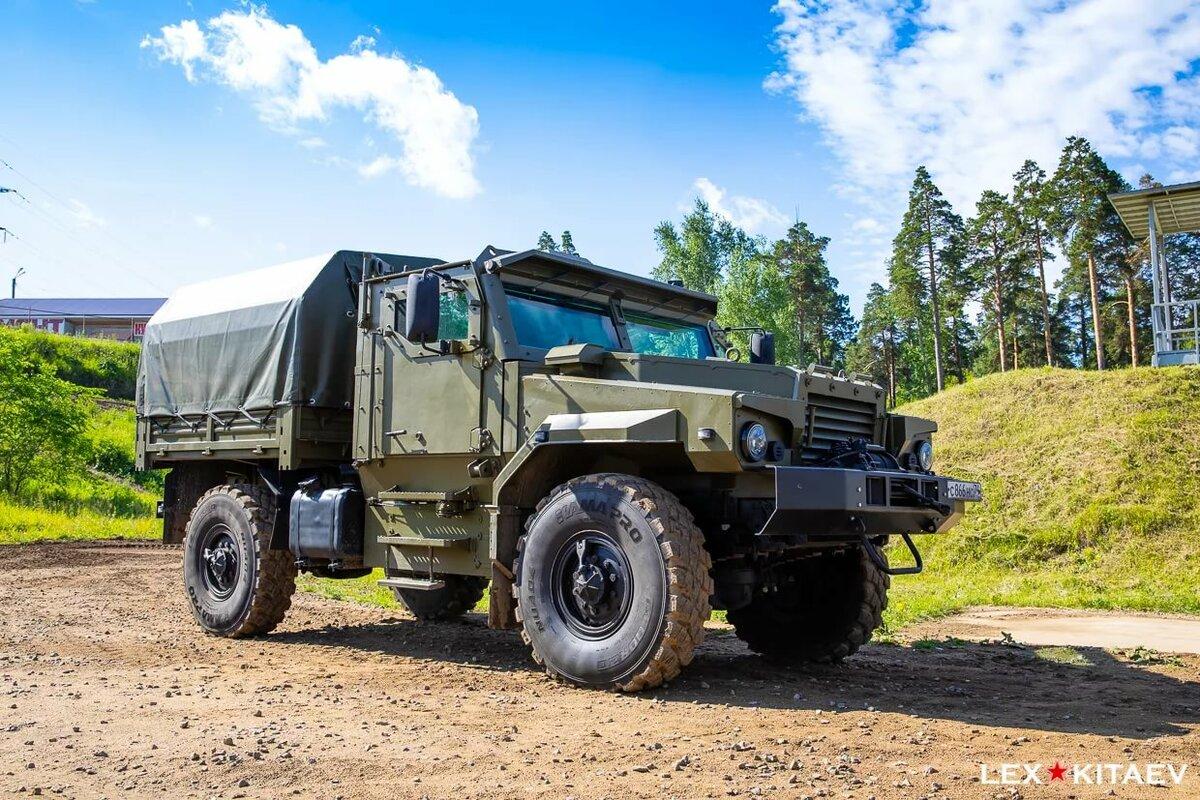 травами новый урал для армии фото специальный прибор