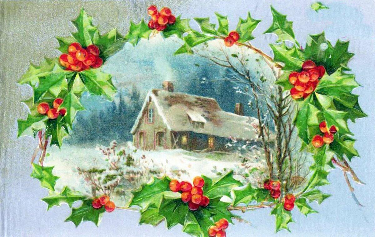 Картинки для декупажа в хорошем качестве новый год