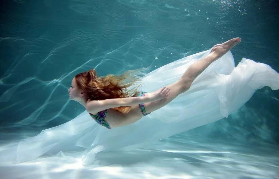фотосъемка под водой в бассейне хотел сказать человек