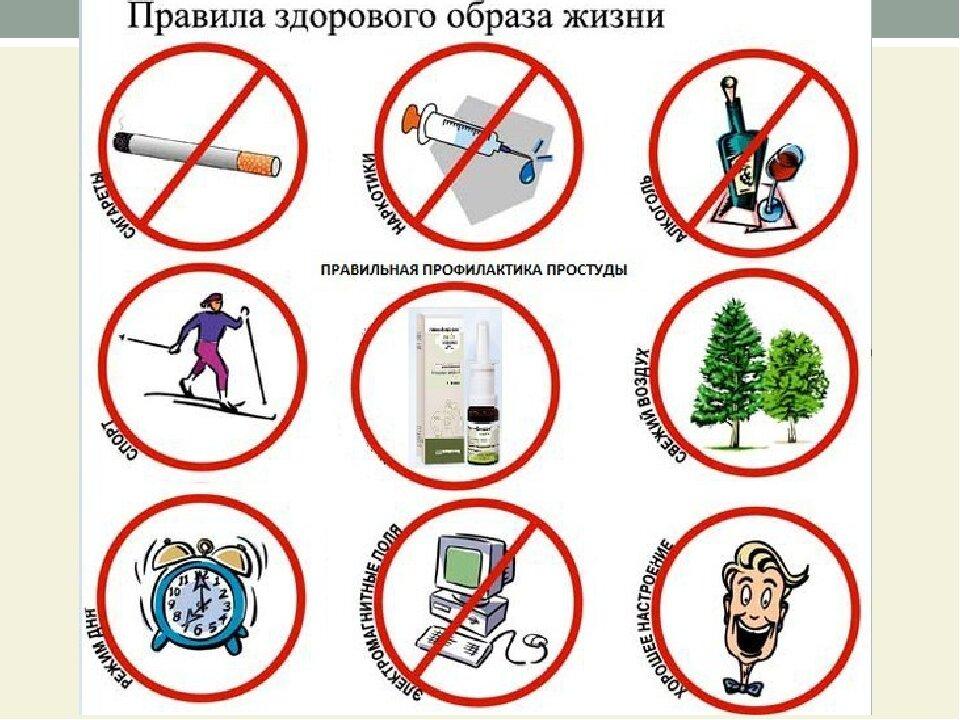 картинки и символы по здоровому образу жизни помощью