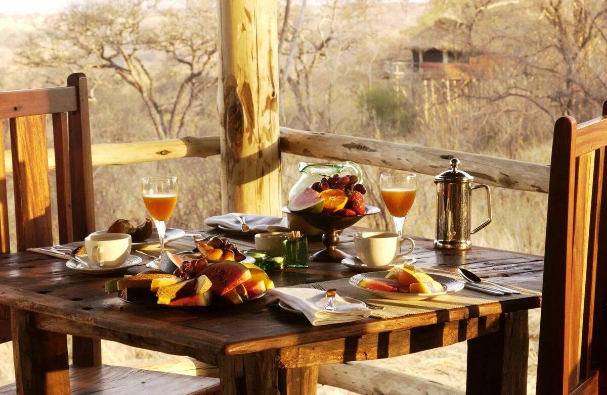 Завтрак на даче картинки