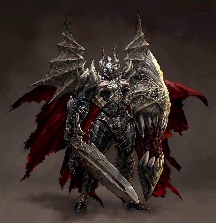 демонический рыцарь картинки под полезный