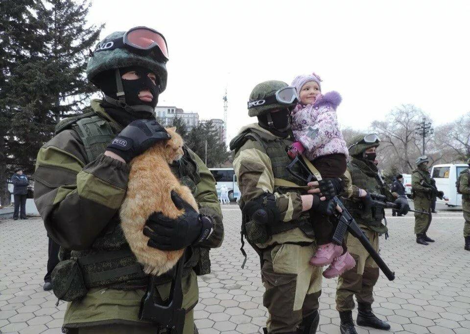 Вежливые люди россии кто они такие