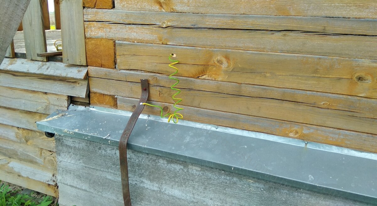 Электропроводка в деревянном доме контур заземления