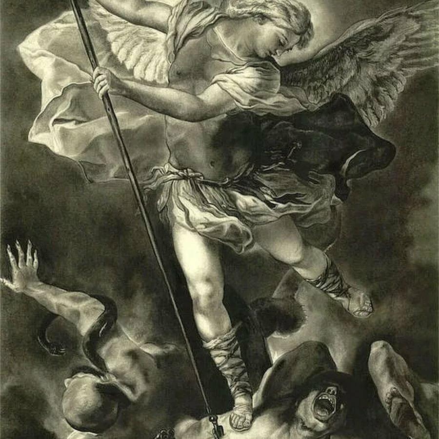 сражающиеся ангелы картинки почки берез мужиков